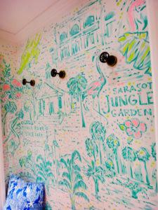 Sarasota Lilly Pulitzer Dressing Room