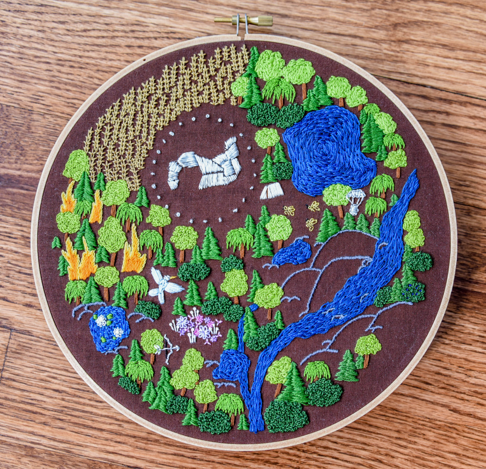 Hunger Games Embroidery