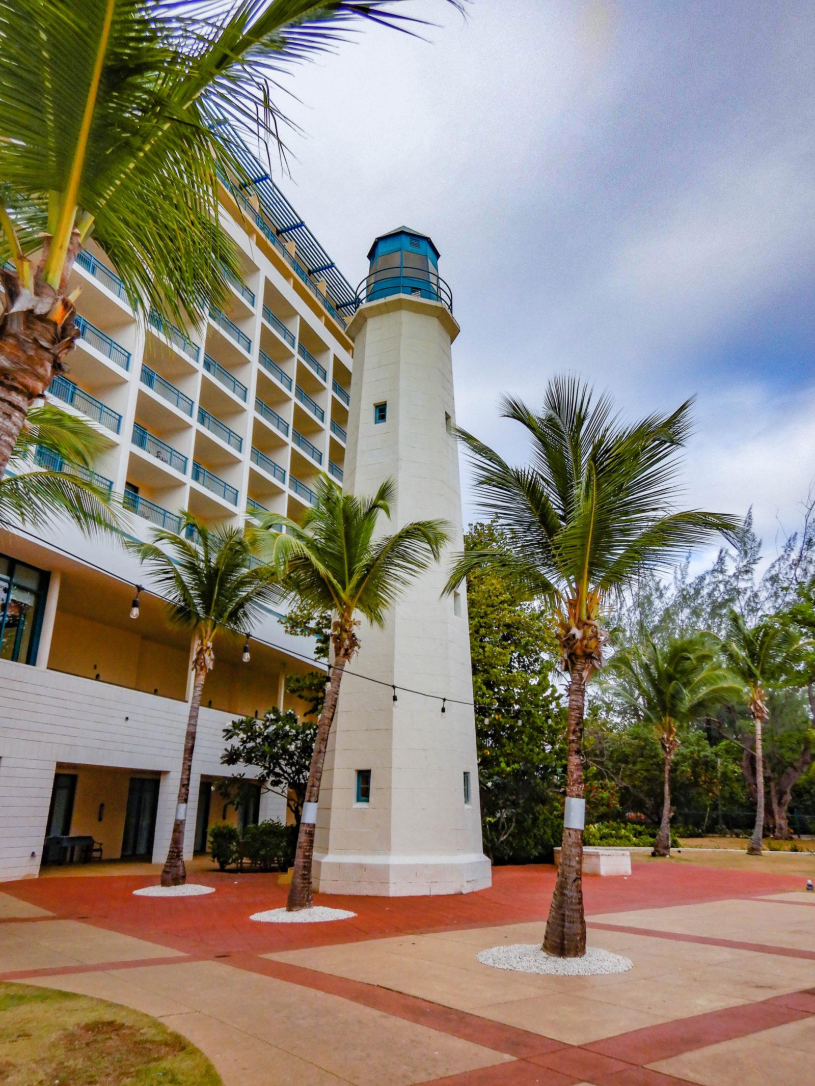 Barbados Hilton Lighthouse