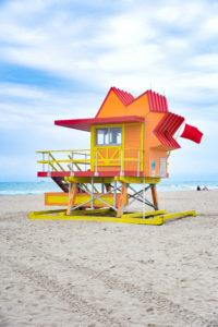 Miami Beach Lifeguard Tower
