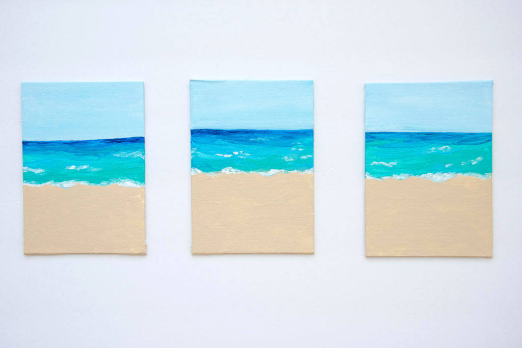 Beach Acrylic Paintings