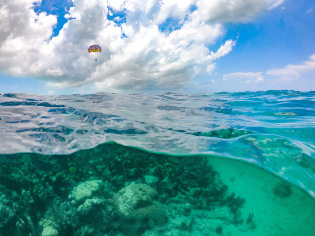Turks & Caicos Ocean Parasailing