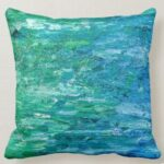 Abstract Painting Pillow