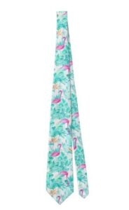 Tropical Flamingo Tie