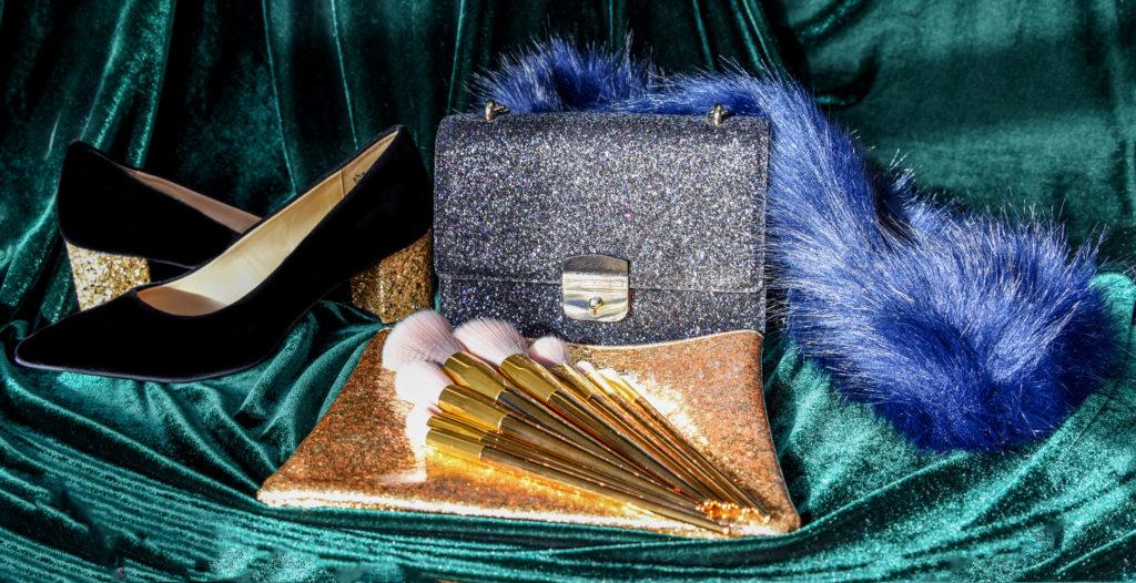Navy, Gold, Emerald Fashion